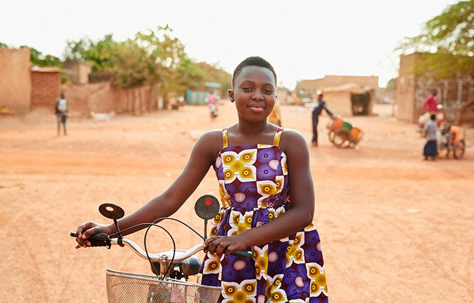 Latty, 14, was inspired by her mother to call for the elimination of FGM. Luca Zordan for UNFPA